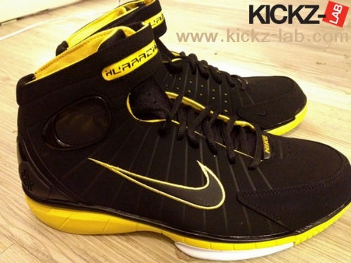 Nike Huarache 2K4 - Black/Yellow
