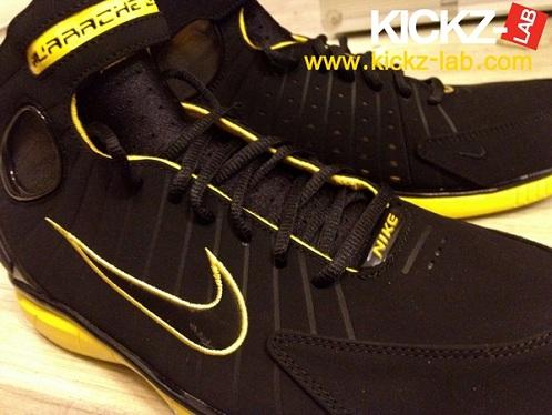 Nike Huarache 2K4 - Black/Yellow