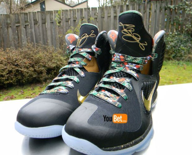 Nike LeBron 9 'Watch The Throne' Available on ebay