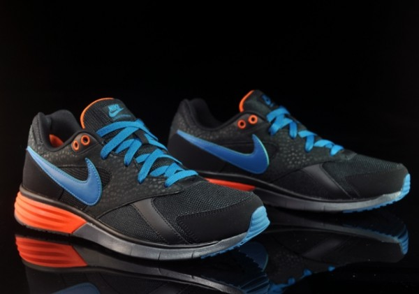 Nike Lunar Pantheon - Black/Green Abyss-Safety Orange - Now Available