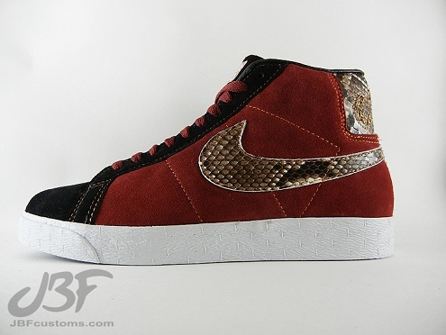 "Nike SB Blazer High ""Jafar"" by JBF Customs"