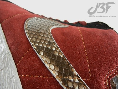 "Nike SB Blazer High ""Jafar"" by JBF Customs"