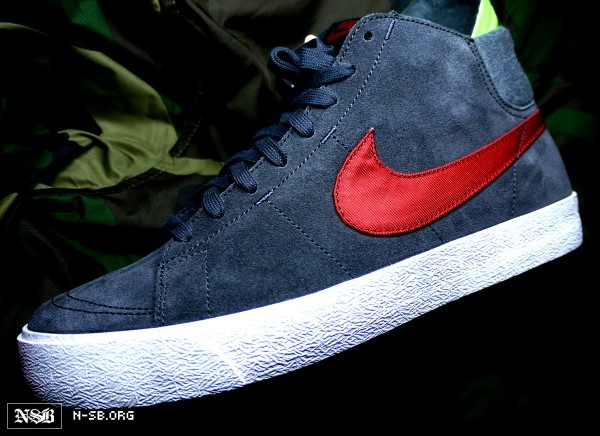 Nike SB Blazer High LR 'Nylon Swoosh' - Fall 2012