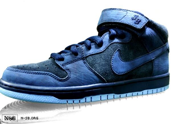 Nike SB Dunk Mid 'Obsidian' - Fall 2012