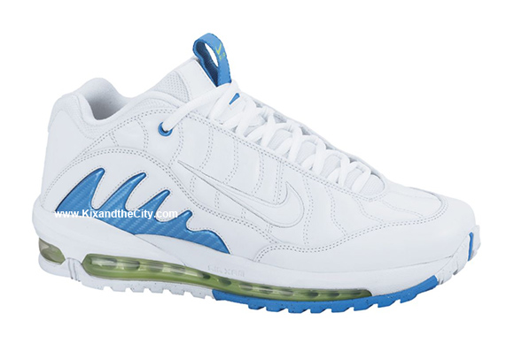 Nike Total Griffey Max '99 - White/White-Neptune Blue-Action Green - Release Date + Info