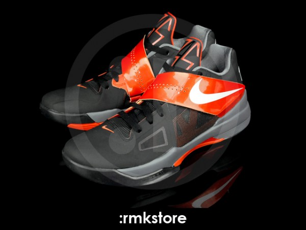 Nike Zoom KD IV (4) - Black/White-Team Orange - First Look