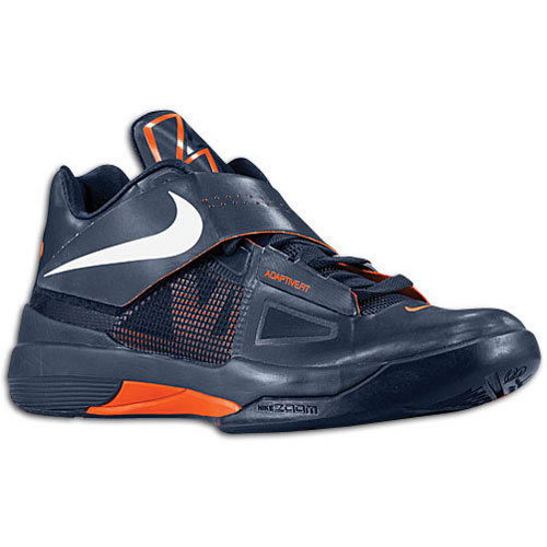 78ebd59022e0 Nike Zoom KD IV Midnight Navy Now Available at Eastbay hot sale. Previously  available at some of your ...