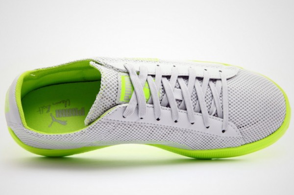 Puma Bolt Lite Low 'Grey/Neon Green' - Now Available