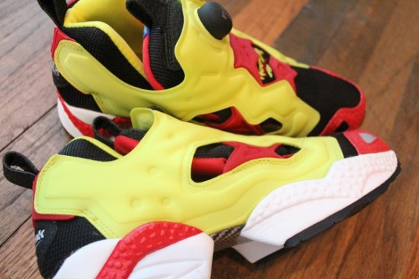 Reebok Insta Pump Fury 'Yellow/Firecracker Red' - Now Available