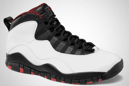 Release Reminder: Air Jordan Retro X (10) White/Varsity Red-Black