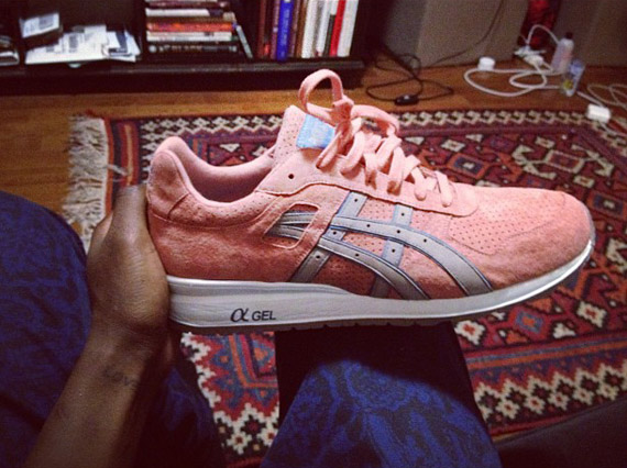 Ronnie Fieg x asics GT-II 'Salmon' - First Look