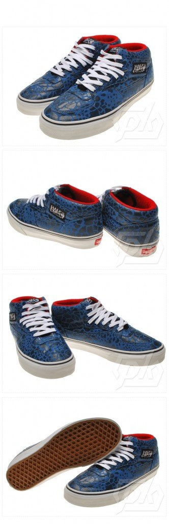 Supreme x Vans Half Cab 'Blue Giraffe' - First Look