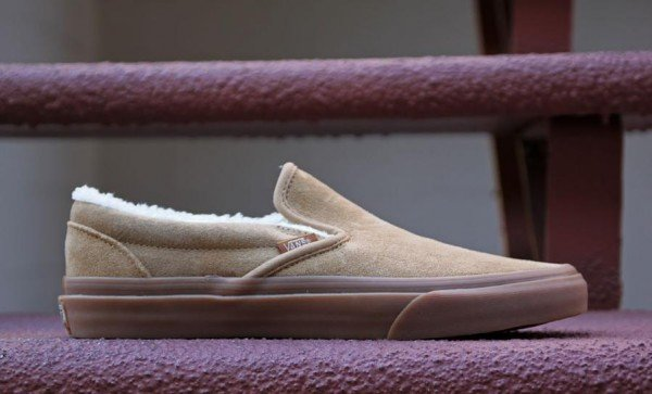 Vans Classic Slip-On 'Tan Sherpa' - Now Available