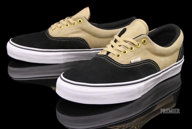 Vans Era Pro 'Black/Tan' - Now