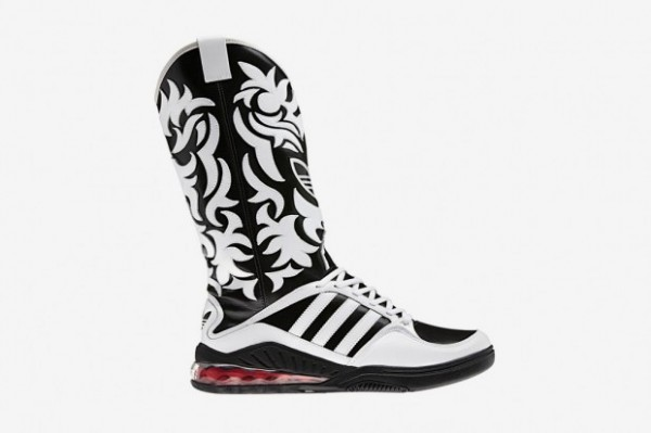 adidas Originals by Originals Jeremy Scott Mega Softcell Cowboy Boots - First Look