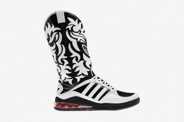 adidas Originals by Originals Jeremy Scott Mega Softcell Cowboy Boots - First Look