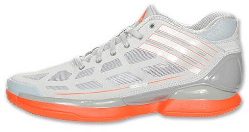 adidas adiZero Crazy Light Low - Light Onix/High Energy