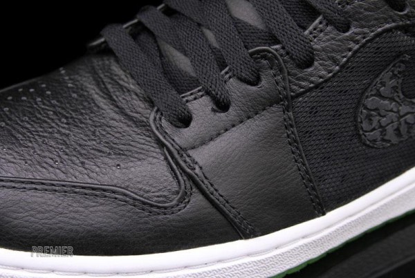 new style cc43d 46380 Air Jordan 1 Phat 'Black/Action Green' - Now Available | SneakerFiles