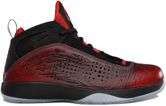 Air Jordan 2011 West Jordan Brand Classic Black Comet Red