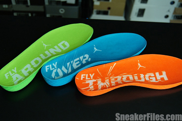 Air Jordan 2012 Year of the Dragon Cushioning System Close