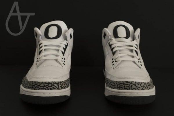 Air Jordan III (3) Oregon 'Home' PE - New Images