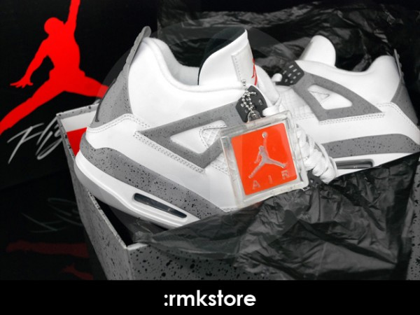Air Jordan IV (4) 'White/Cement' - New Images