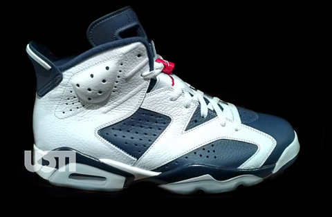 Air Jordan VI (6) 'Olympic' - First Look