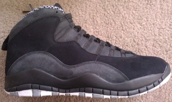 Air Jordan X (10) 'Stealth' - Another Look
