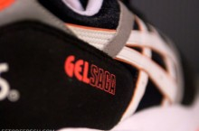 Asics Gel Saga – Black/White-Infrared