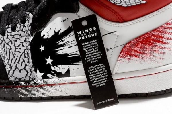 Dave White x Air Jordan 1 'Wings For The Future' - Release Date + Info