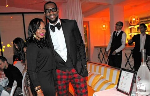 LeBron James Proposes to Savannah Brinson in Air Jordan 3 White Cements