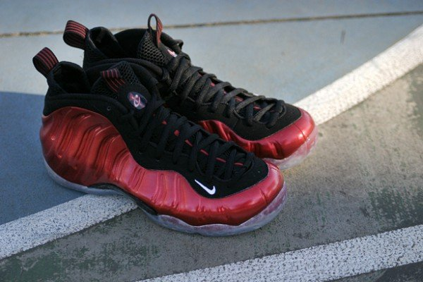 Nike Air Foamposite One 'Metallic Red' - New Images