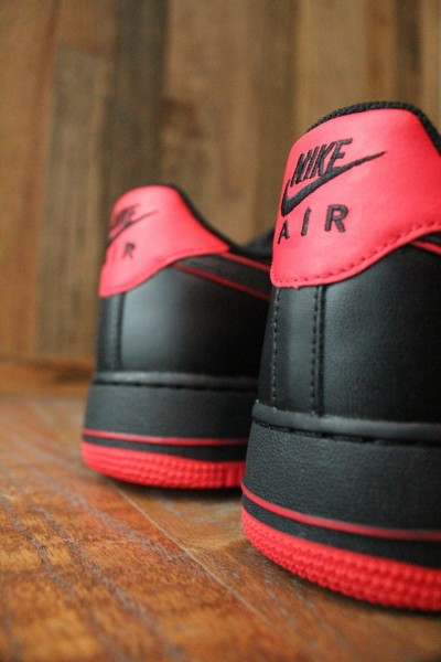 Nike Air Force 1 Low 'Black/Action Red' - Release Date + Info