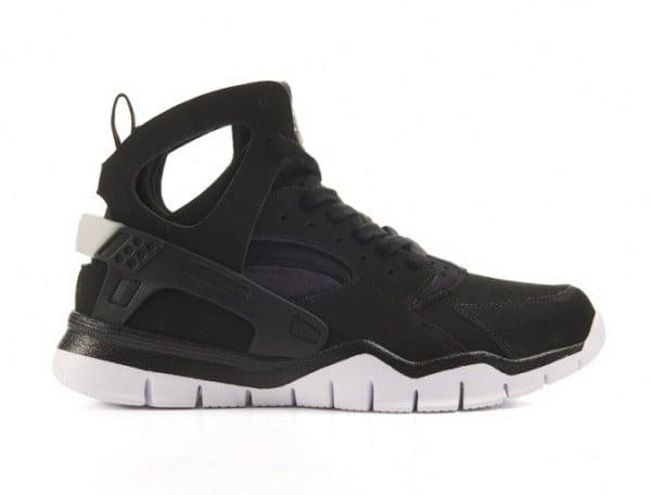 Nike Air Huarache BBall 2012 'Black/White' - Release Date + Info