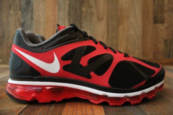 Nike Air Max+ 2012 'Black/White-Action Red' - Release Date + Info