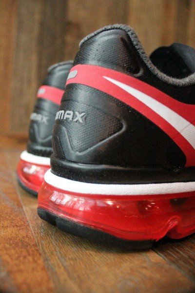 Nike Air Max+ 2012 'BlackWhite Action Red' Release Date +