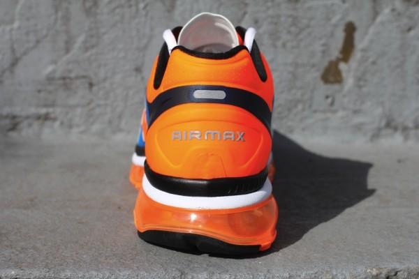 Nike Air Max+ 2012 'Bright Mango/Bright Blue' - Release Date + Info