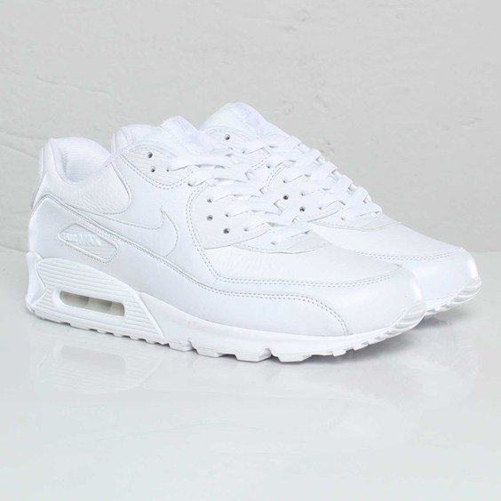 Nike Air Max 90 Premium White | END.