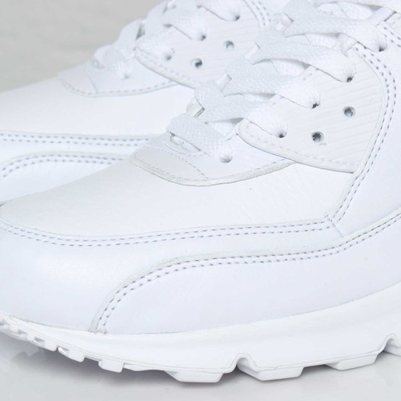 Nike Air Max 90 Premium 'White' - Now Available