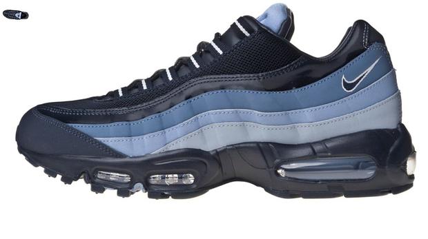 4ce6911a0c Nike Air Max 95 - Obsidian/White/Dusty Purple | SneakerFiles