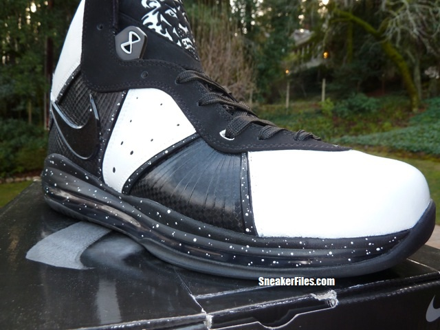 Nike Air Max LeBron 8 'Oreo' Custom