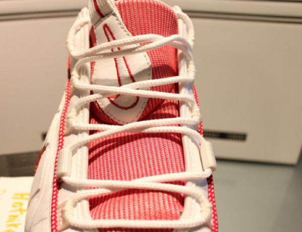 Nike Air Max Penny 1 White/Varsity Red Sample