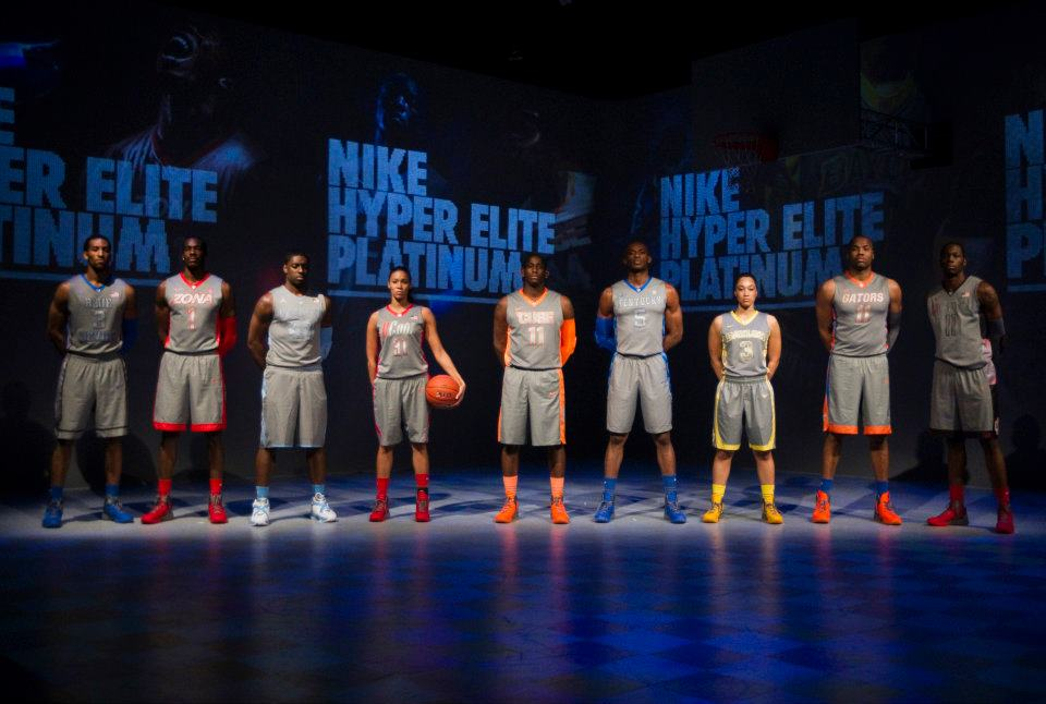 Nike Basketball Hyper Elite Platinum Collection