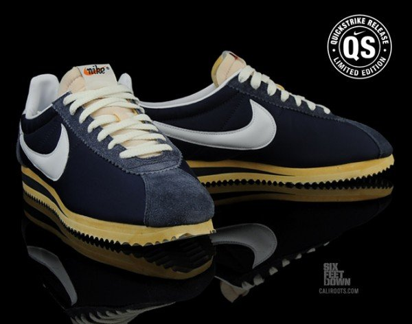 detailed look 1c18e 82a04 ... italy nike cortez classic og nylon qs midnight navy now available 5234d  bf05d