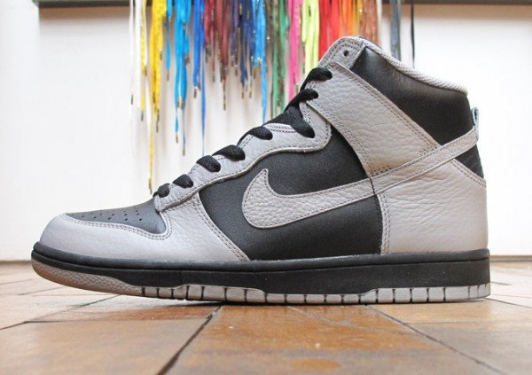 Nike Dunk High 'Black/Medium Grey' - Now Available