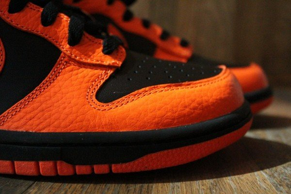 Nike Dunk High 'Black/Safety Orange' - Release Date + Info