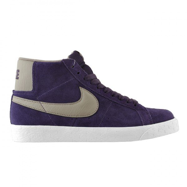 Nike SB Blazer  Quasar Purple Iron  - February 2012  e10450ca39dd