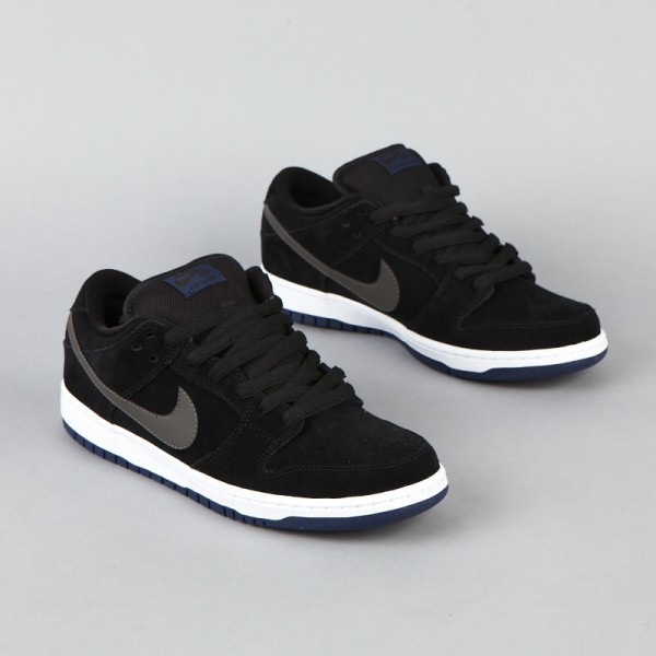 Nike SB Dunk Low BlackMidnight Fog Navy White Now Available