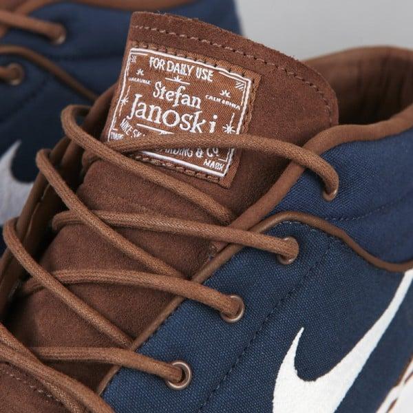 Nike SB Stefan Janoski Mid - Dark Slate/Sandalwood-Medium Brown-Gum - Now Available