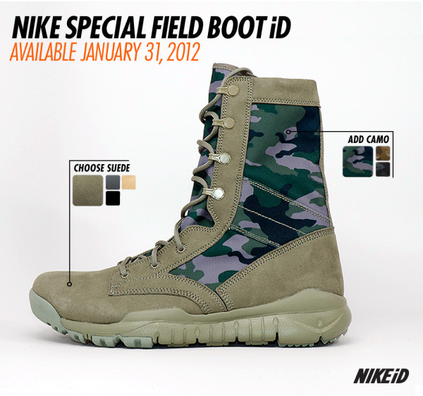 a4235c027fa Nike Special Field Boot Coming to NikeiD | SneakerFiles